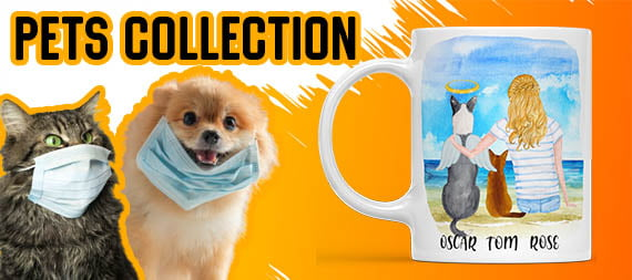 best friends custom pet mugs